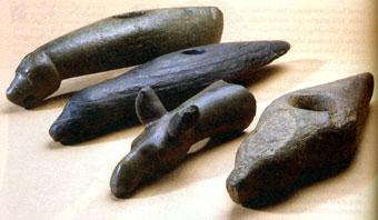 Каменные топоры найденные в Приладожье