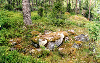 "Каменный стол на ""горе совета"" Кяряямяки."