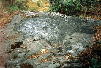 Карельский родовой знак в Лапинлахти (Куркиеки)