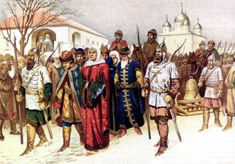 Покорение Новгорода Иваном III