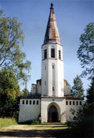 Лютеранская церковь в Лумиваара 1935 г.