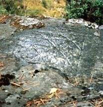 Карельское клеймо на камне в Лапинлахти (Куркиеки)