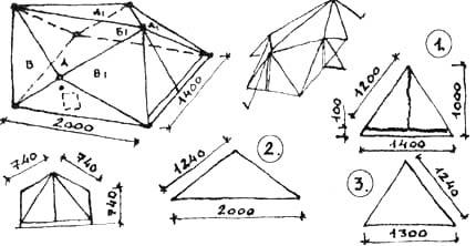 Шестискатные палатки для горных маршрутов